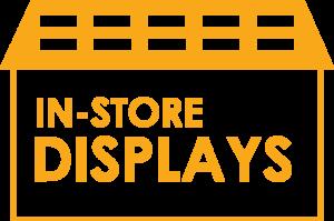 in store displays