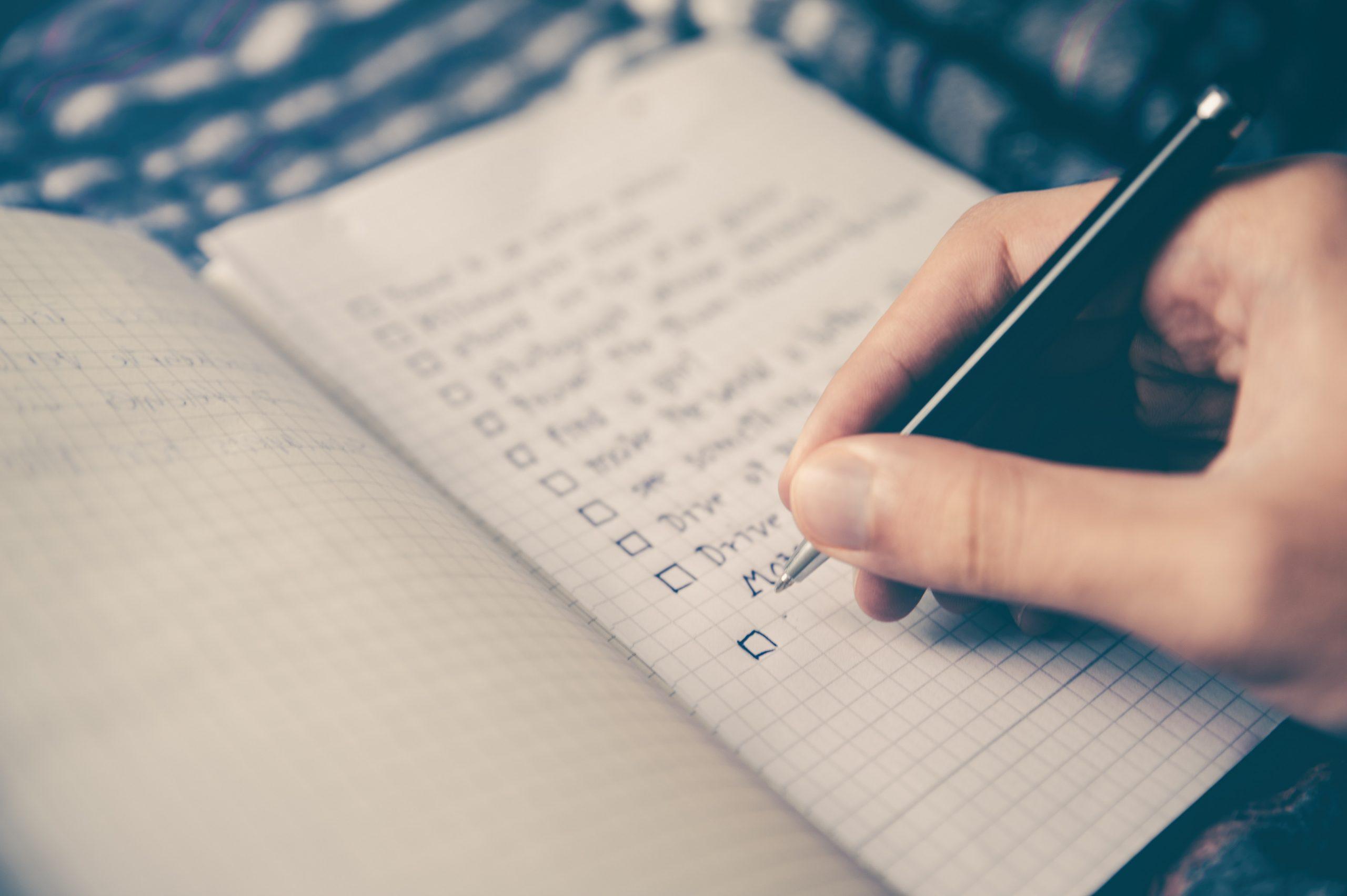 My Design Checklist