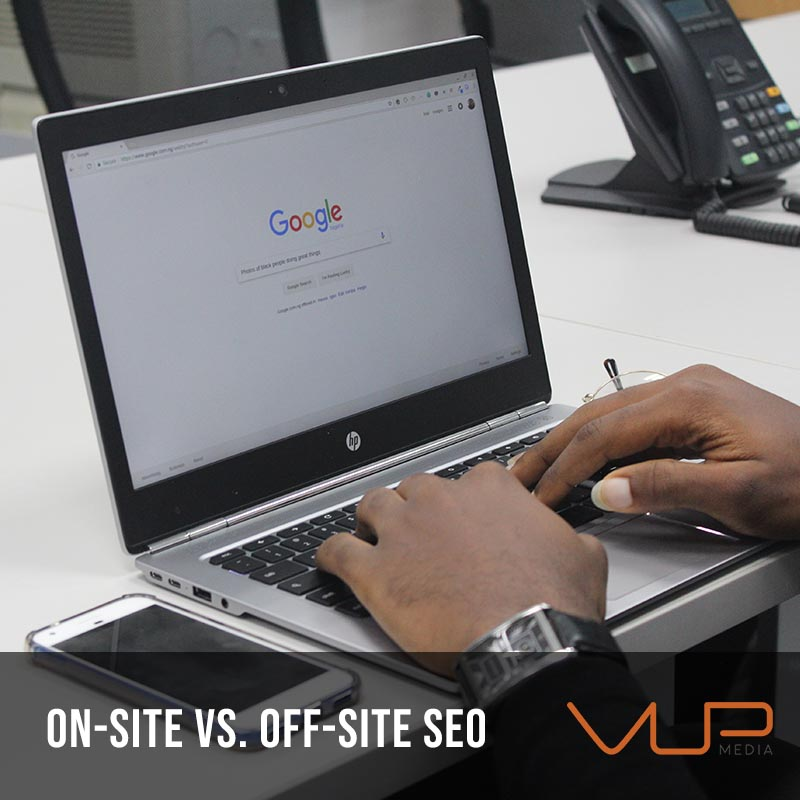 Difference Between On-Site and Off-Site SEO