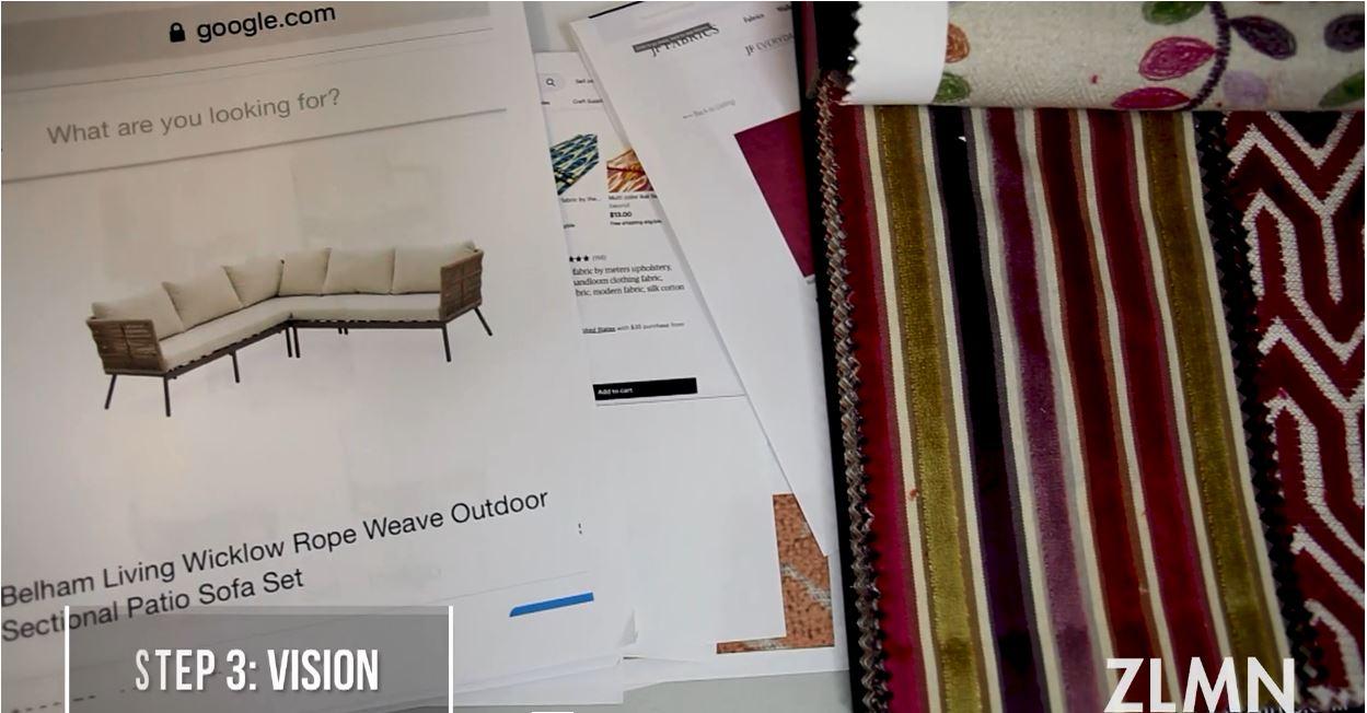 Zelman Style Interiors 4-Step Design Process