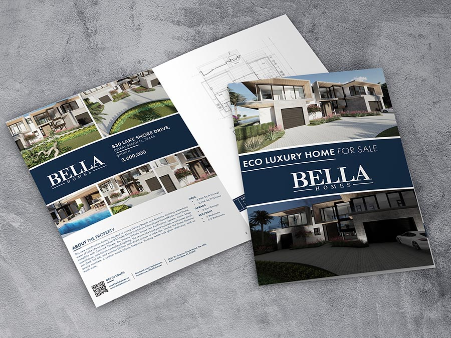 Bella Homes – Eco Luxury Brochure